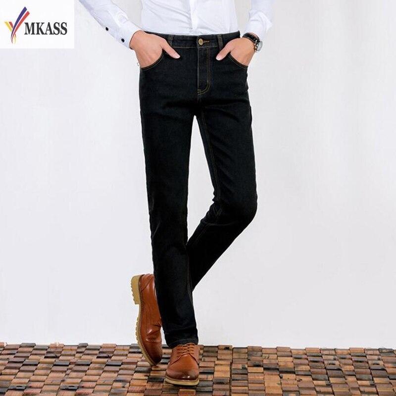 28-39 Big Size True Famous Brand Casual Straight Denim Jeans Men Pants 3 Colors Pantacourt Homme Marque Jeans