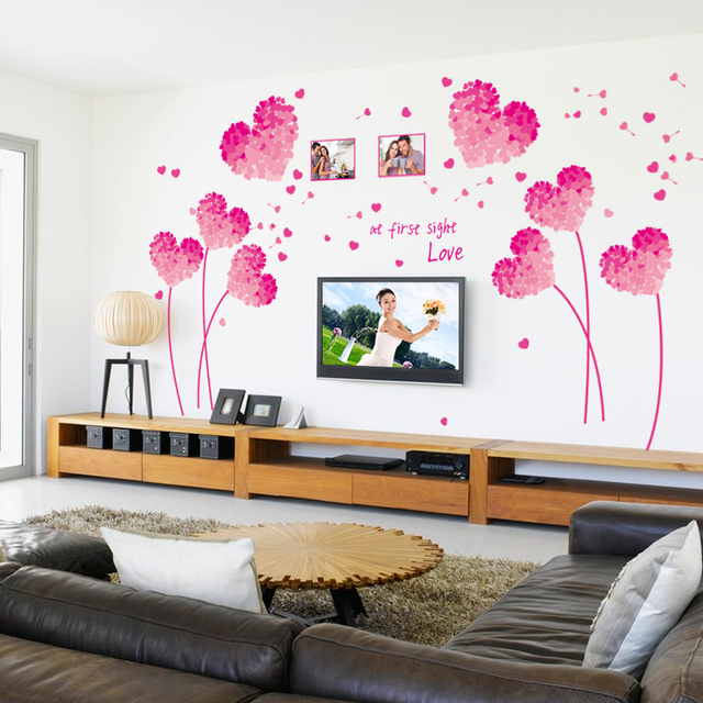 Pictures heart wall decor