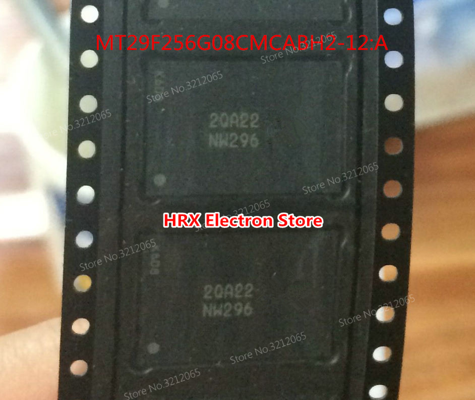 New Original MT29F256G08CMCABH2-12:A NW296 BGA NAND FlashNew Original MT29F256G08CMCABH2-12:A NW296 BGA NAND Flash