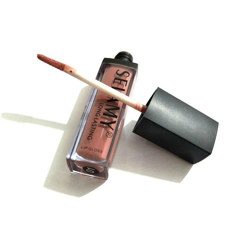 New 3D Liquid Lipstick Makeup Matte Lipstick Does Not Fade Waterproof Lip Stick
