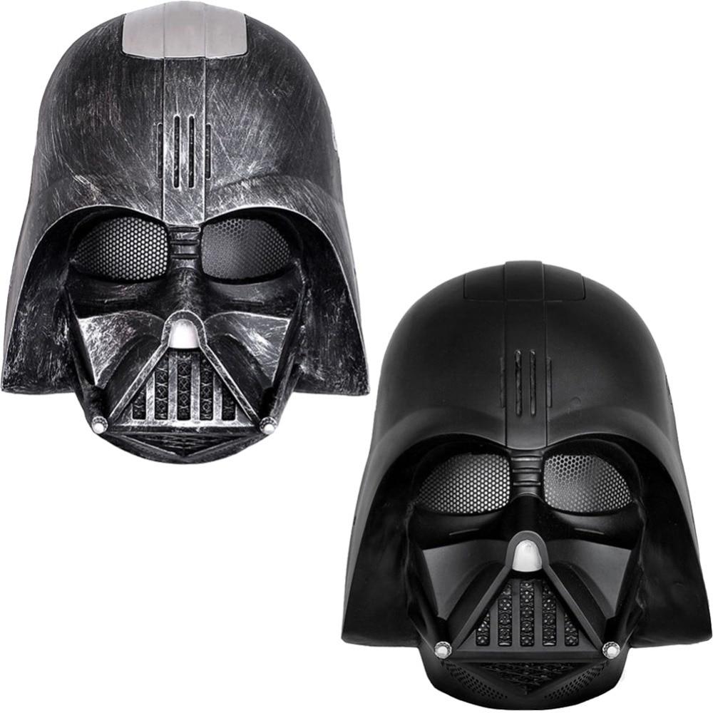 1 Peça Filme de Star Wars Darth Vader Anakin Skywalker Cosplay Festa de Halloween Adereços Máscara Completa Rosto Capacete FRP Collectible