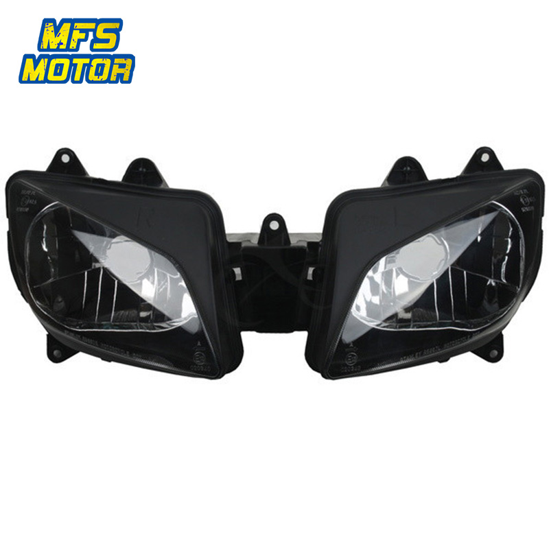 Headlight For 98-99 Yamaha YZFR1 YZF-R1 YZF R1 Motorcycle Front Lamp Assembly Upper Headlamp Head Light Housing 1998 1999 injection molding kit for yamaha r1 1998 1999 fairings blue white yzf r1 98 99 fairing set tt93