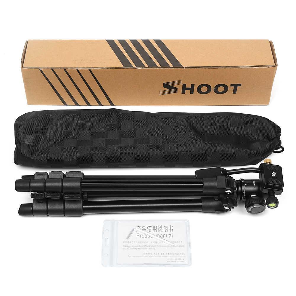 Снимать 4-секциями штатив-Трипод стойка держатель для штатива с шариковой головкой для Canon 1300D sony X3000 A6000 Nikon D3400 DSLR Камера аксессуары