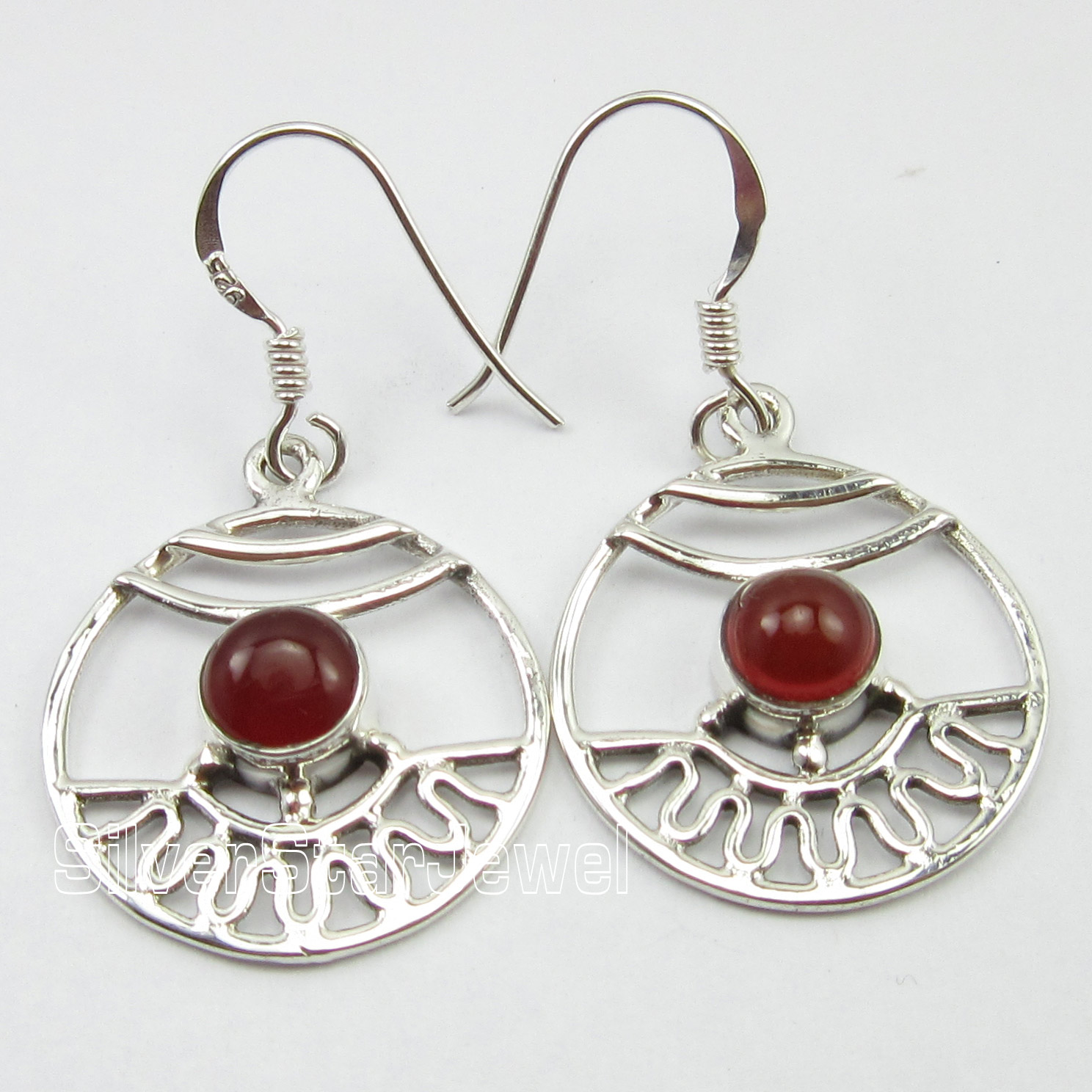 connections color silver carnelian pollack sterling product drop earrings carolyn and