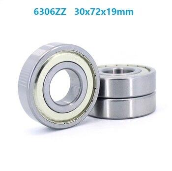 50pcs/lot 6306ZZ 6306-2Z 6306 ZZ Z 30*72*19mm Deep Groove Ball Bearings 30x72x19mm 6306Z