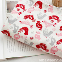 50 * 175cm 100% cotton natural organic cotton baby fabric DIY Handmade Patchwork quilting fabric for baby craft sewing tecidos(China)