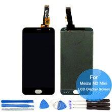 Nuevo para meizu m2 mini display lcd + asamblea de pantalla táctil digitalizador 5 Pulgadas Meilan M2 Mini 1820*720 Pantalla Lcd de Piezas Y Herramientas Gratuitas
