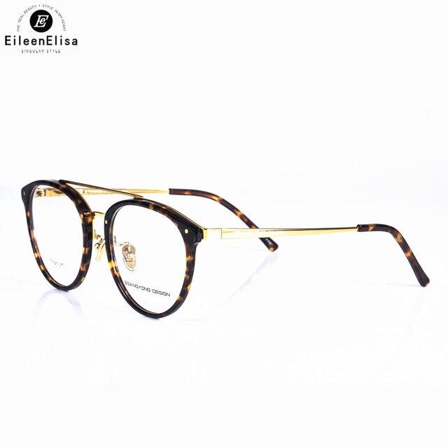Fashion Optical Glasses Frame High Quality Gold Flat Top Glasses ...