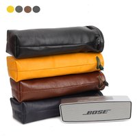 2018 New Leather Carry Protective Storage Box Pouch Cover Bag Case For Bose SoundLink Mini 1/Mini 2 Wireless Bluetooth Speaker