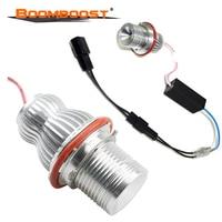 2Pcs/Set Bulb 7000K silver Angel Eyes LED MARKER 10W CREE Chip LED Halo FOR BMW E39/E64/E60/E66/E83/E87