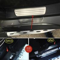 Inner Door Sill Scuff Plate Welcome Pedal Cover Trim 4Pcs For Mercedes Benz GLE Coupe ( C292 ) 320 400 450 2015 2018