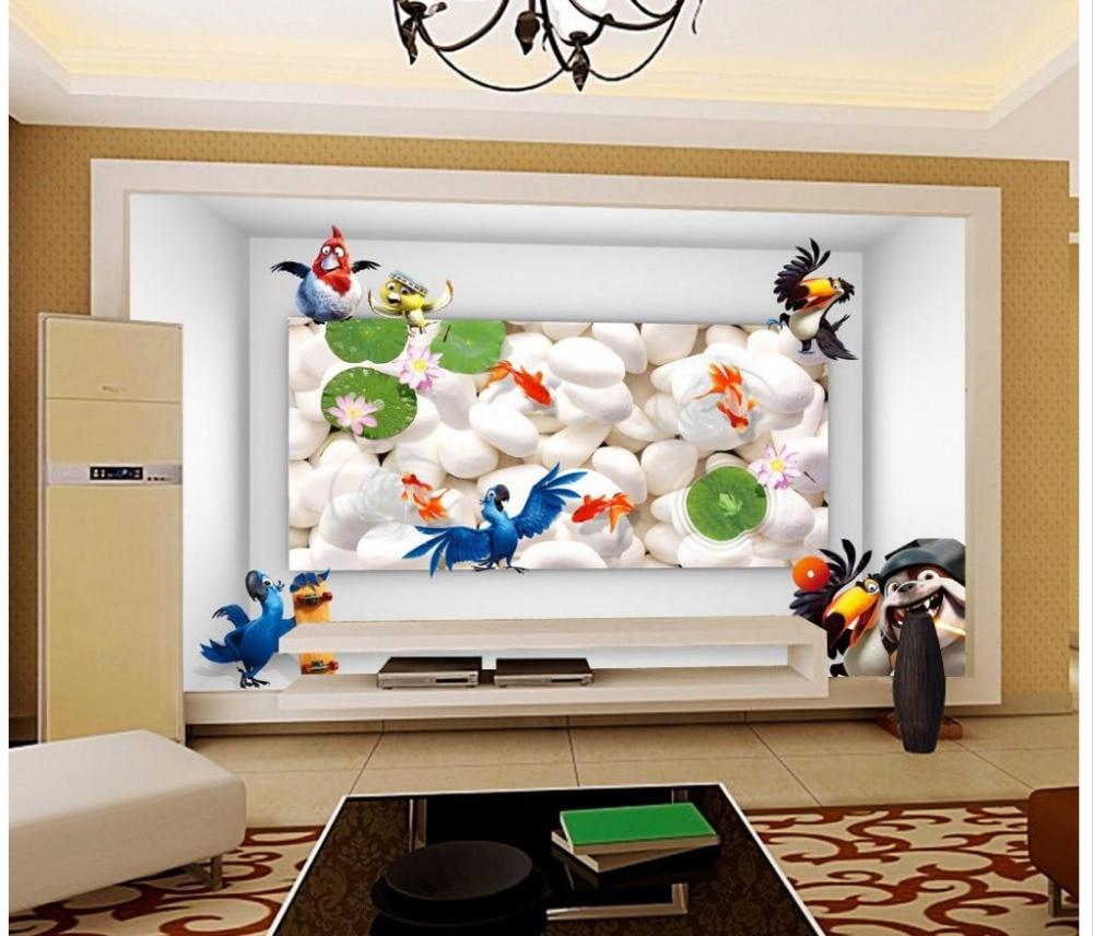 Hoge kwaliteit groothandel pebble behang van chinese pebble behang ...