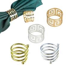 10pcs table decoration napkin ring holder western wedding home furnishings