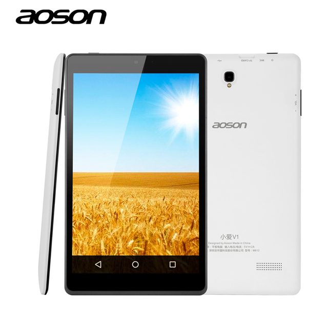 Aoson M812 8 inch Android Tablet PC Quad Core IPS Screen RAM 1GB ROM 16GB Dual Cam Google Play Store External 3G WIFI Tablets