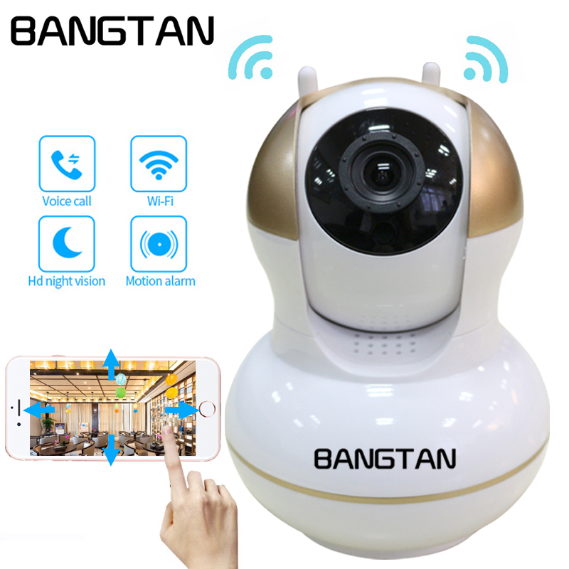 720P CCTV Camera HD IP Camera WI-FI Wireless Home Security Camera Plug And Play PTZ P2P Night Version Indoor Camera elitepb 1 3mp 960p hd wireless ip camera wi fi indoor outdoor home security camera waterproof day and night