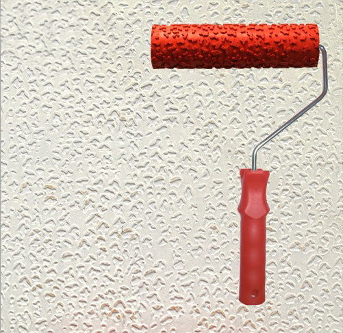 Diatom Ooze Tools Patterned Roller For Wall Decoration 7