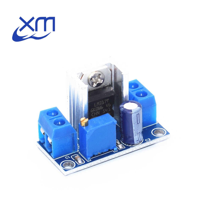1 шт. LM317 Регулируемый Напряжение регулятор напряжения DC-DC понижающий преобразователь понижающий модуль печатной платы линейного регулятора B24