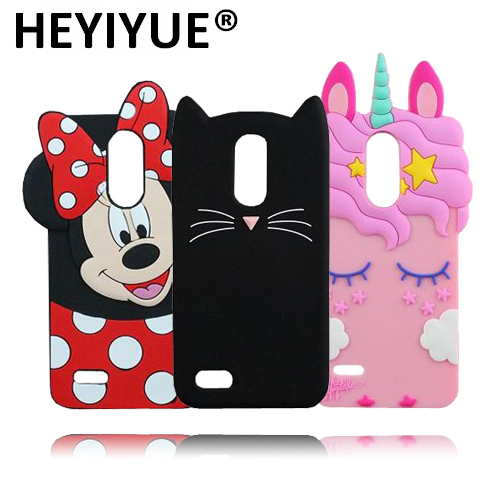 cheap for discount dc2bc 9ab83 US $2.67 |For LG K8 2017 Case Cute Minnie Cat Ice Cream Cupcakes Rabbit  Unicorn 3D Silicone Cases For LG K4 2017-in Half-wrapped Case from  Cellphones ...