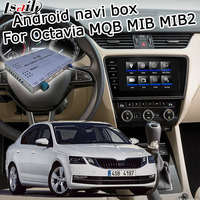 Android GPS navigation box for Skoda Octavia Superb MQB MIB MIB2 system 6.5 8 9.2 video interface box with youtube by Lsailt