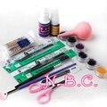NBC Профессиональный макияж искусственные ресницы косметический набор отдельных натуральных длинных накладных ресниц
