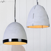 Lfh/Креатив, ретро цементные подвесные светильники, абажур, бетонный Лофт стиль, подвесные светильники, кухня, столовая, бар, бар, арт деко, осв