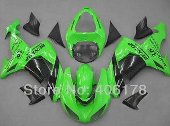 Ninja ZX-10R 06 07 For Ninja ZX10R 2006 2007 ZX 10R Aftermarket Motorcycle Fairings (Injection molding)