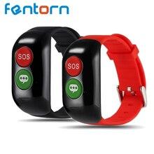 Fentorn H02 Старик Смарт-группы Поддержки GPS WI-FI LBS Позиционирования Устройства Крови мониторинга сердечного ритма Трекер Браслет Браслет
