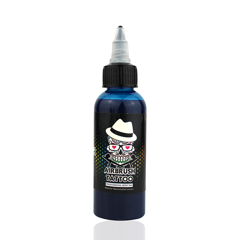 OPHIR 60 ML/Bottle Airbrush Ink Black/Red/Blue/Tattoo Color for Body Paint Temporary Tattoo Ink Pigment Body Art Color _TA099-1 20