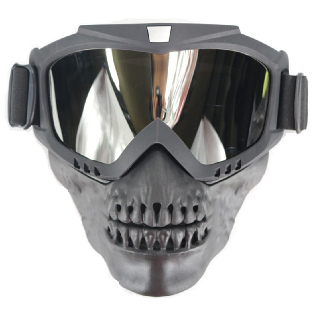 2019 New Arrival American Shock Resistance Tactical Goggles Mask Skull Protective Full Face Mask For Outdoor Airsoft CS Event