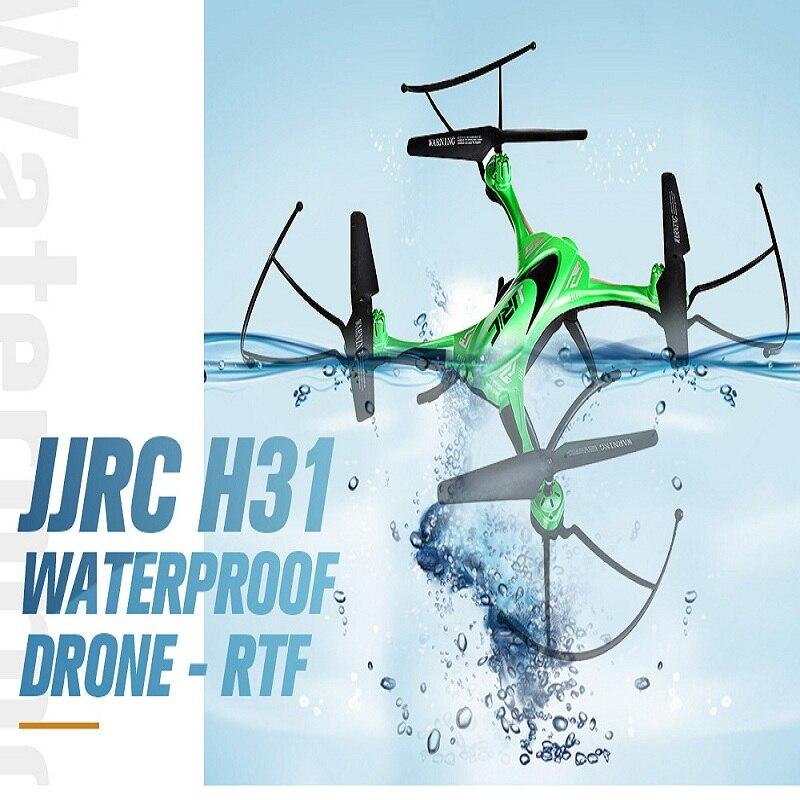 Étanche Drone JJRC H31 Pas de Caméra Un Retour Key Drone rc Sans Tête Mode hélicoptère rc quadrirotor VS JJRC H48 Mini Drone