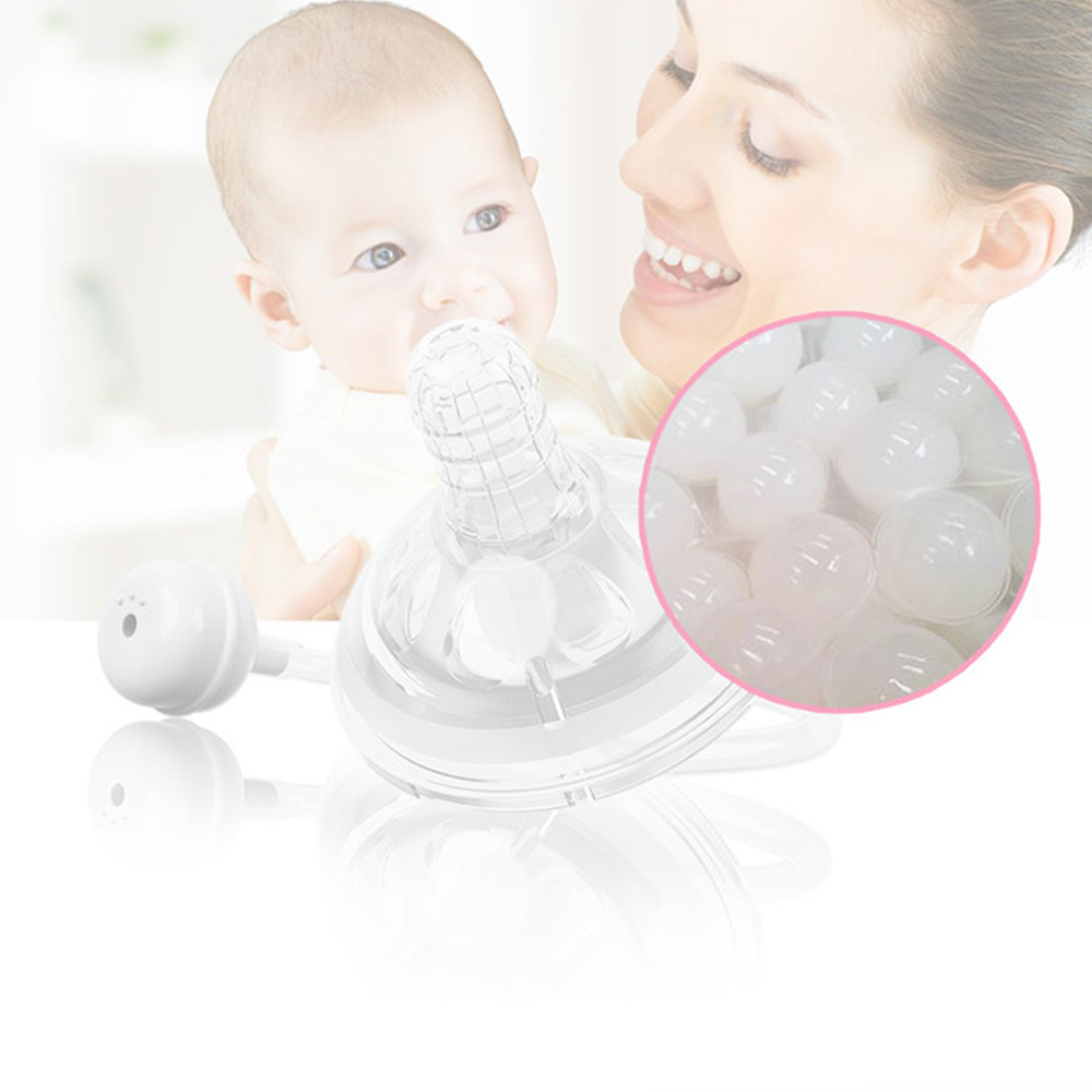 Baby Bottle Accessories Nipples Silicone Wide Caliber Baby Breast Feeding Nipple Breast Feeling Pacifier Baby Feeding supplies