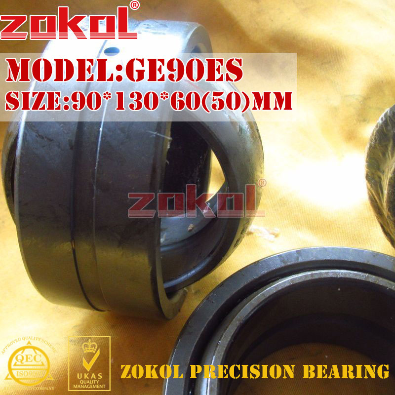 ZOKOL bearing GE90ES Radial Spherical Plain Bearing 90 130 60 50 mm