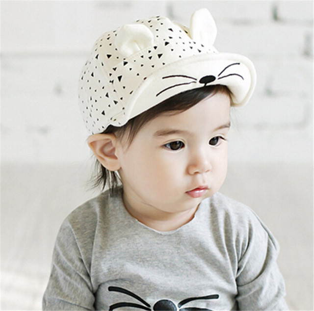 New Baby Boy Sun Hats Caps Summer Boys Visor Children 0-2 Years Old Infant  Cotton Cap Bucket Hat Kids For Bone Photography 6f490955b6c