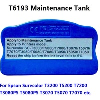XIMO T6193 Chip Resetter For SC T7200 F9200 T7000 T3200 T5200 T3270 T5270 T7270 F6070 F7070