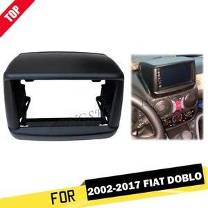Автомагнитола Fascia ДЛЯ 2002-2017 Fiat Doblo Console Dash Kit, DVD, стерео панель, обшивка, лицевая панель, комплект для установки крышки