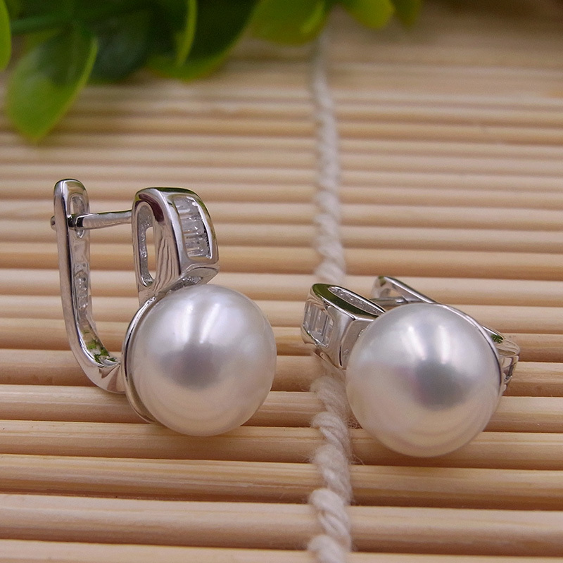 Original Sinya 925 Sterling Silver jewelry set freshwater Pearls - Fine Jewelry - Photo 2
