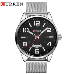 Curren Watches Men Top Brand Luxury Cow Quartz-Watches Sport Men's Watches Waterproof Relogio Heren Hodinky 8236