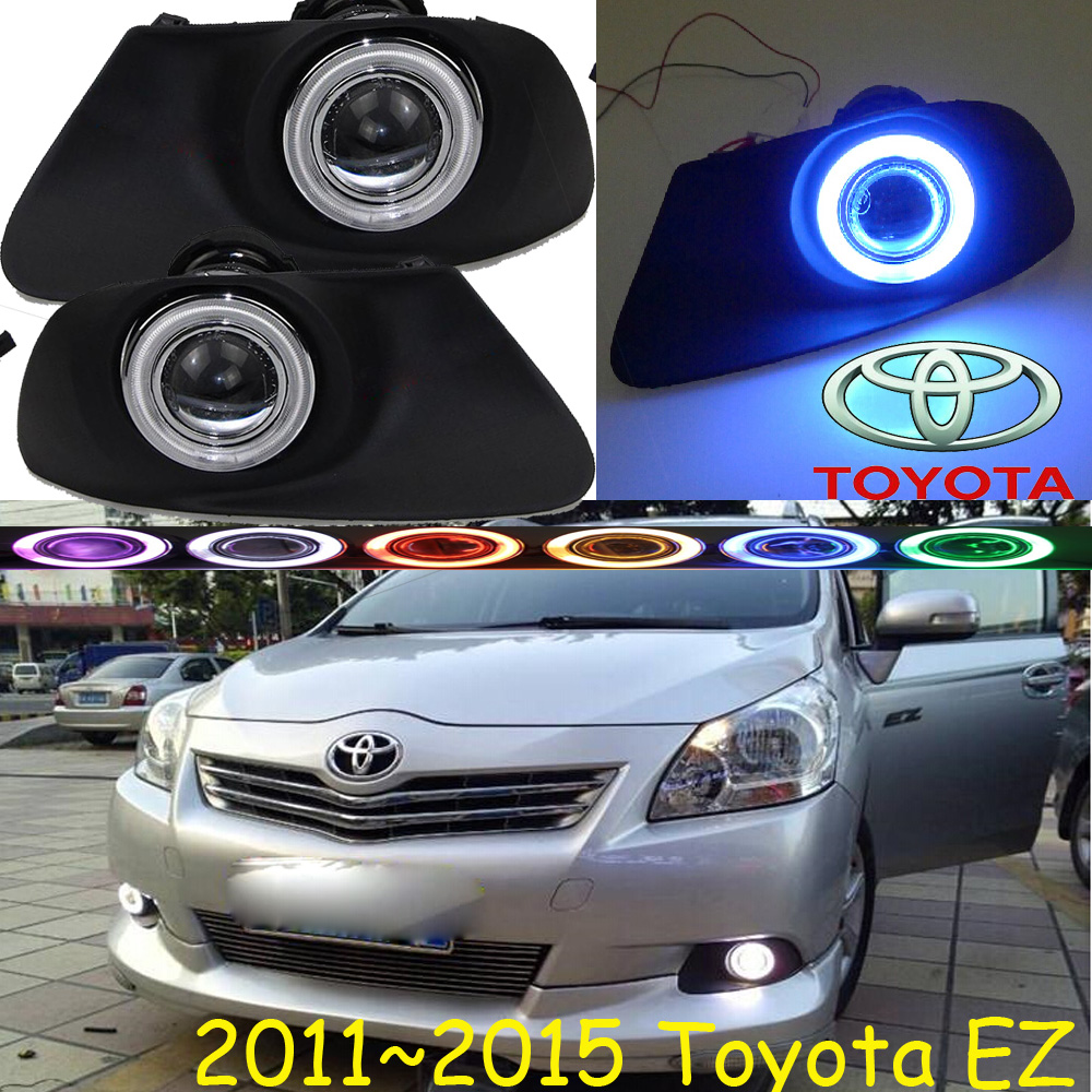 Verso E'Z fog light LED,2011~2015;Free ship!Verso E'Z daytime light,2ps/set+wire ON/OFF:Halogen/HID XENON+Ballast,Verso E'Z bqlzr dc12 24v black push button switch with connector wire s ot on off fog led light for toyota old style