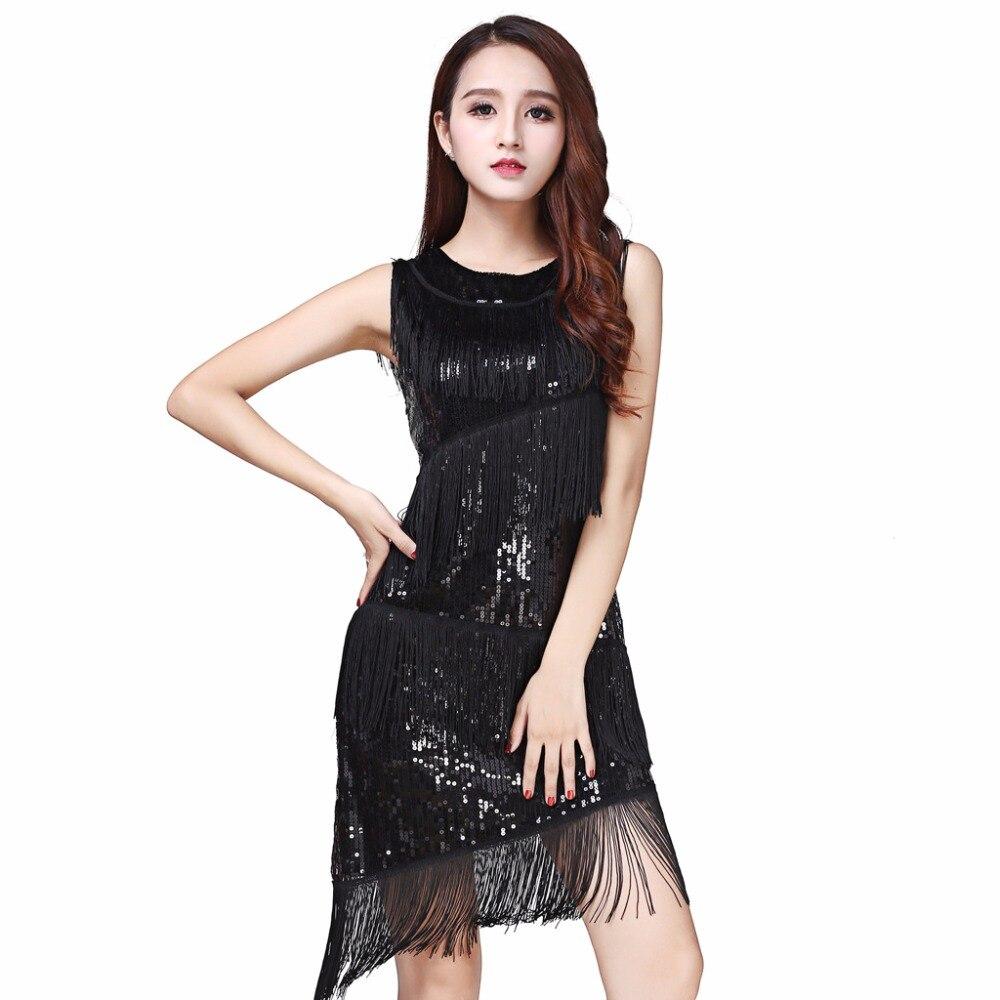 203eb0ffe2824 Performance Women Dance Wear Dinner Dress Salsa Costume Set ...