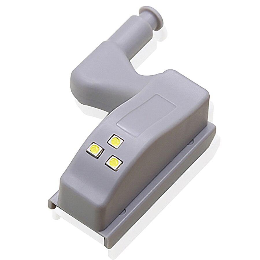 Светодиодная подсветка под шкаф универсальным внутренним шарнирная лампа шкаф светильник Сенсор светодиодный Armario для шкафа Кухня Спальня