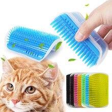 Дропшиппинг товары для домашних животных кошек принадлежности для кошек домашних животных самогрумерная щетка для ухода за стеной угловая щетка для волос Массажная инструмент для кошек скребок