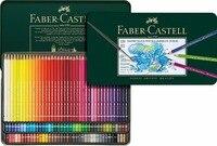 FABER CASTELL 60 color artist водорастворимый 120 зеленый цвет свинец олово акварельные карандаши