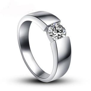 diamond male wedding ring