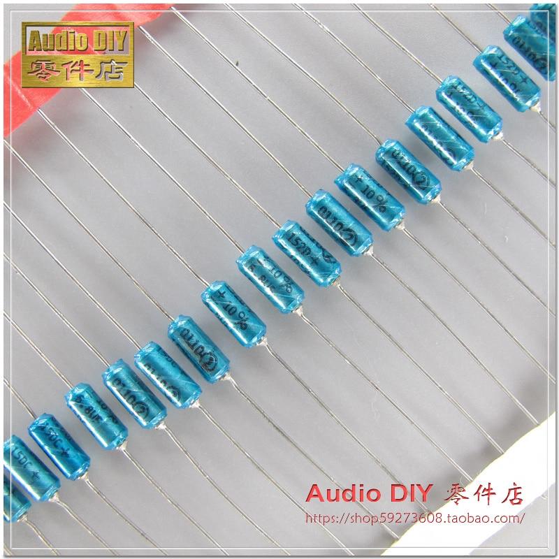 10pcs/30pcs SPRAGUE 152D 6.8uF/15V 10% Axial Gold Sealed Tantalum Electrolytic Capacitor Free Shipping
