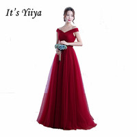Free Shipping 2017 Sleeveless Red Clare Pink Formal Dresses O Neck Sex Long Customized Bridesmaid Gowns
