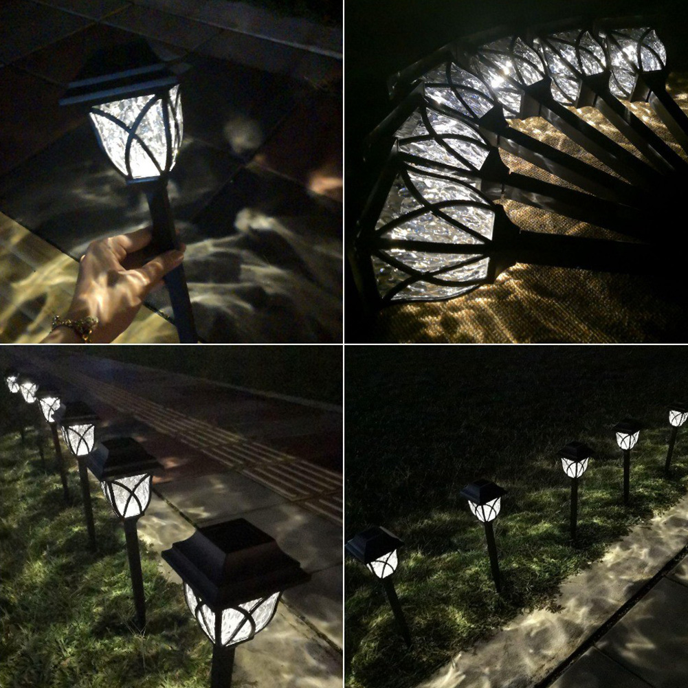 Image 3 - 6 Pcs Lawn Lamp Pathway Decoration Solar Powered Outdoor Durable Garden Energy Saving Waterproof Yard LED Bulb Landscape Light-in LED Lawn Lamps from Lights & Lighting