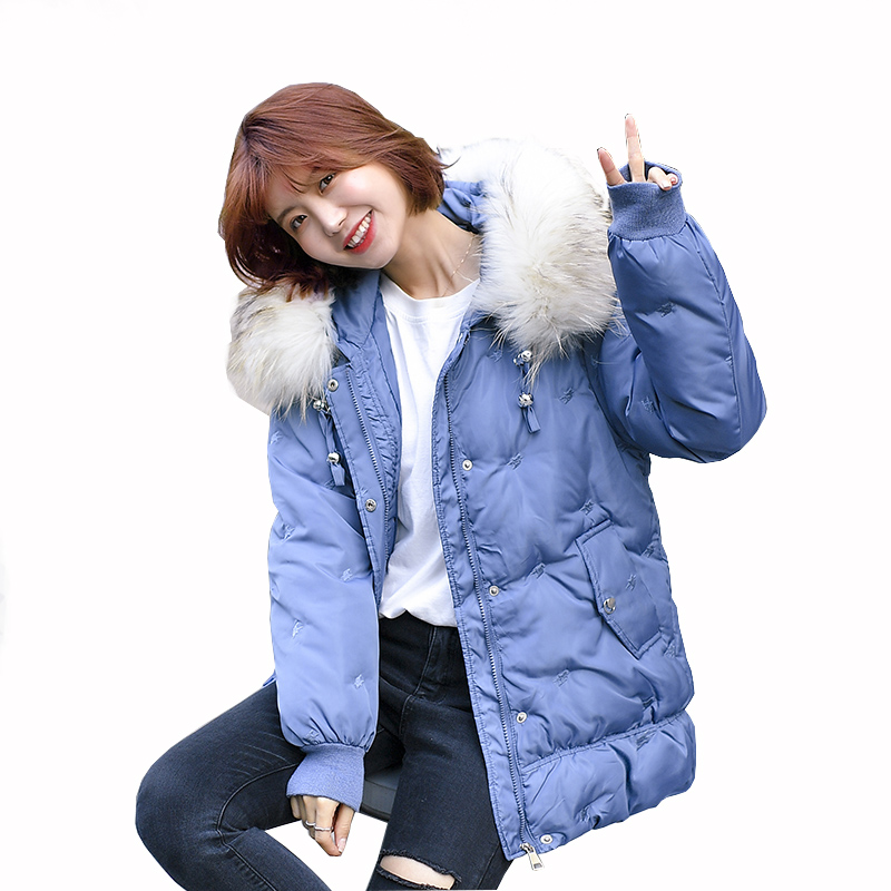 winter coat women 2019 New style outerwear womens clothing   parka   casual jackets hooded with fur collar coats