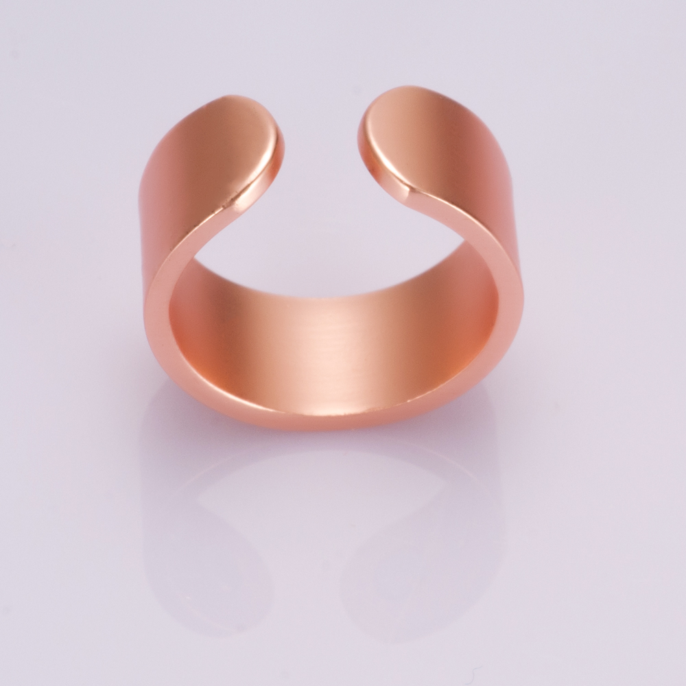 simple vinterly ring jewelry health item cuff in finished men for women pure matte energy copper from magnetic mens rings adjustable