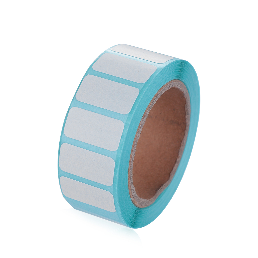700Pcs/Roll 6 Sizes Waterproof Adhesive Thermal Label Sticker Paper Supermarket Price Blank Label Direct Print Sticker Paper