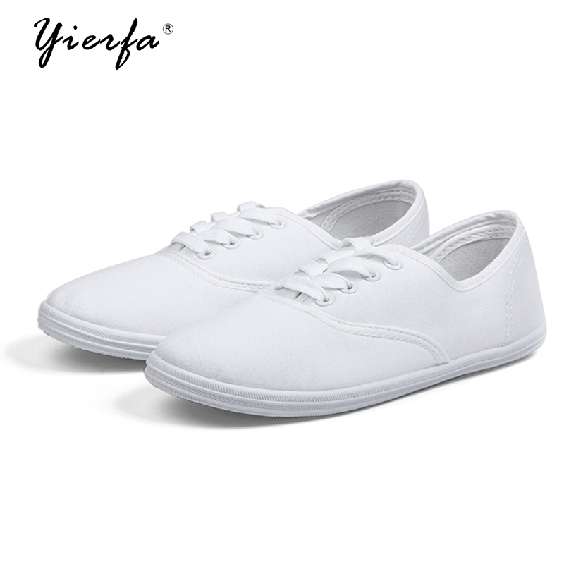 Women's spring canvas shoes female Korean white shoes breathable Chao Literature student shoes female foreign trade shoes